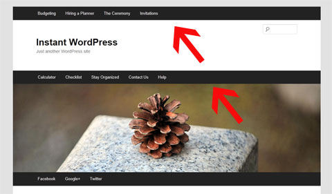 Improve Your Blog's Revenue, Traffic & Bounce Rate By Using WordPress Menus & Static Pages