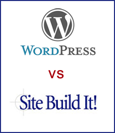 site build it or wordpress