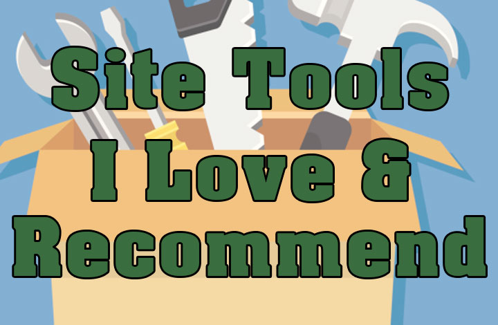 Products and Tools I Use for Website Creation, Promotion and Video