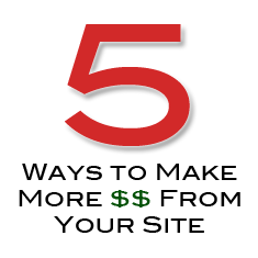 make more money from your site