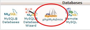 phpmyadmin
