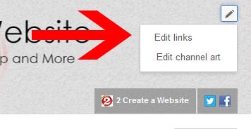 Edit Custom Links