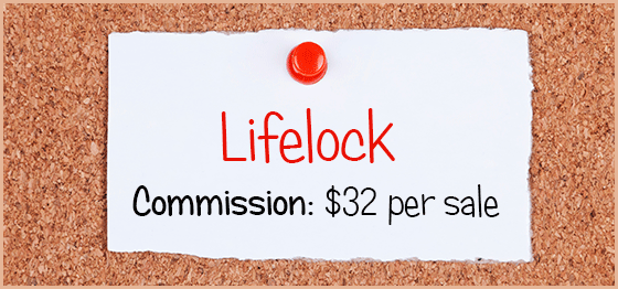 Lifelock Affiliate Program
