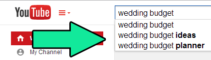weddingKeywords