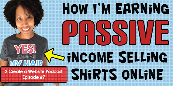 Making Passive Income Online With Spreadshirt