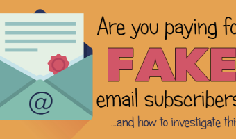 Are You Paying for Fake Email Subscribers?