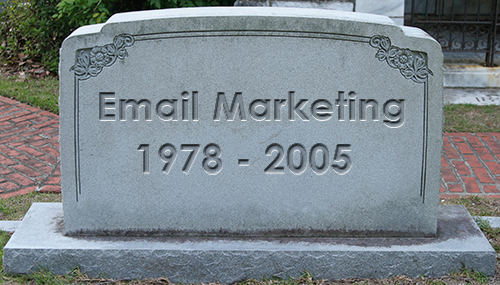 Email Marketing is Dead
