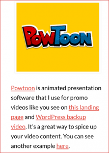 Powtoon Snippet
