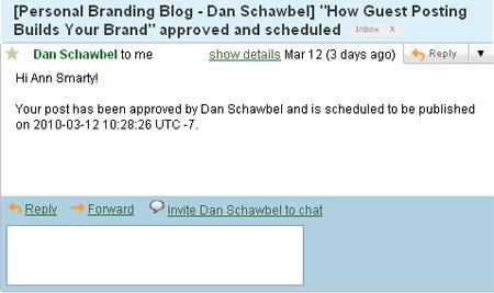 Guest posting WordPress plugin