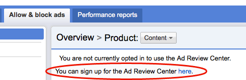Adsense Ad Review