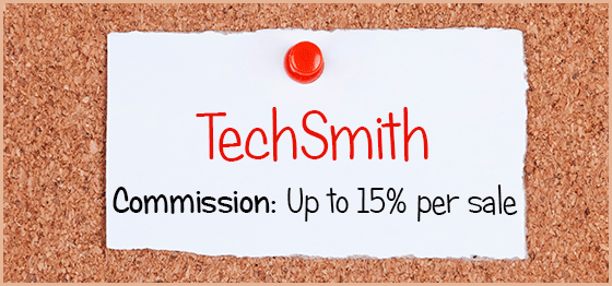 TechSmith Affiliate Program