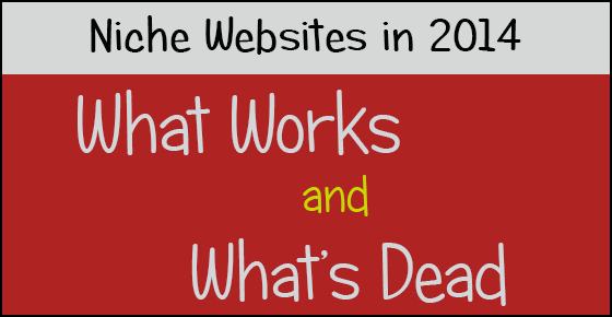 Niche Websites in 2014 - What Works and What Doesn't