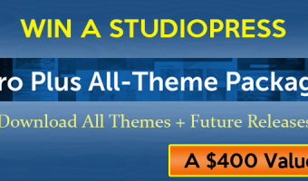 How to Win a $400 Wordpress Theme Package