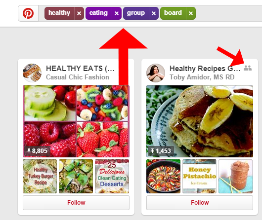 healthy-eating-group-board