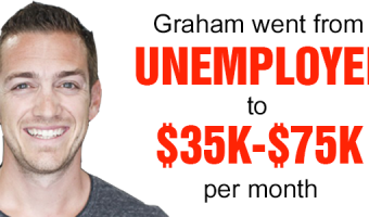 Graham Makes $35K to $75K Per Month Selling Video Courses