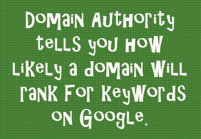 Domain Authority Definition