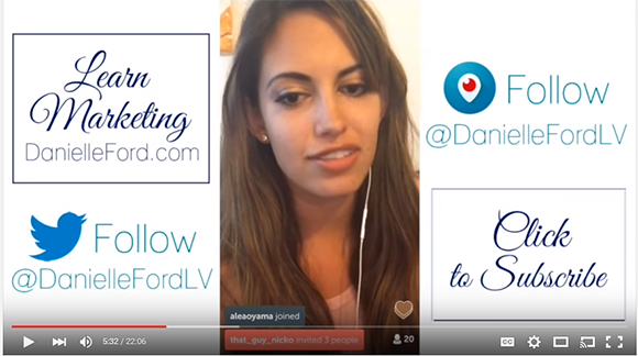 Danielle Ford on YouTube