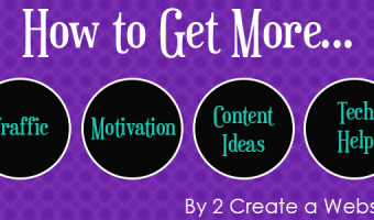 If You Need Traffic, Content Ideas, Motivation or Tech Help, Read This Now!