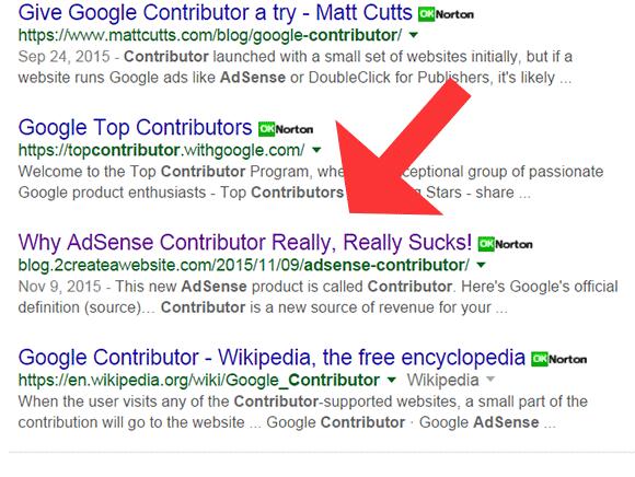 AdSense Contributor