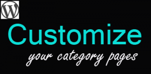 How to Customize Your Category Pages