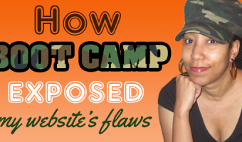 How Boot Camp Exposed My Website Flaws