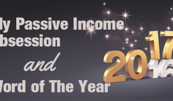 My Passive Income Obsession, Stalled Website & Word of The Year